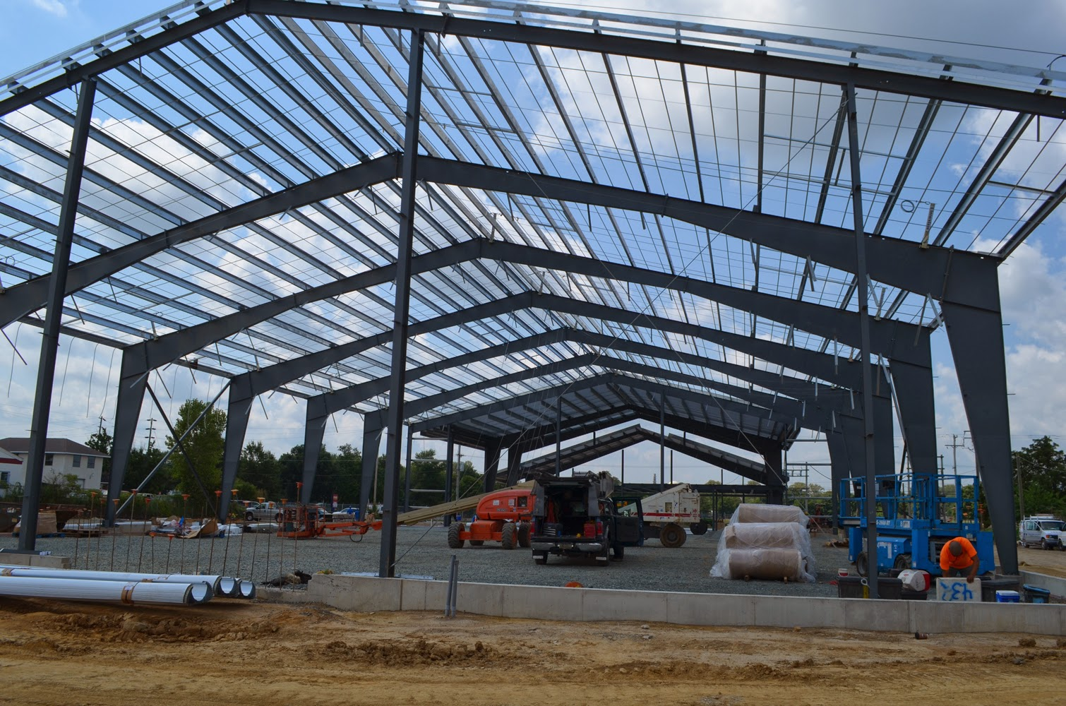 Open Steel Frame Building : When is a pre engineered metal building right for your